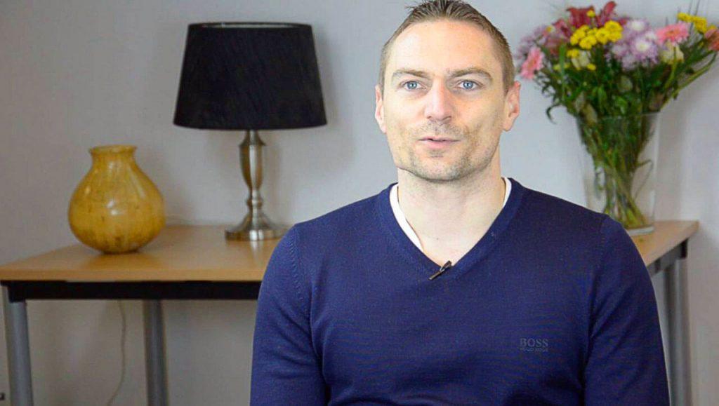 Matt arthritis sufferer